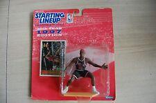 1997 DENNIS RODMAN Chicago Bulls SLU Starting LineUp RED HAIR figure moc
