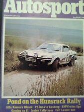 Autosport July 28th 1977 *Paul Ricard 500 Km & Enna F2*