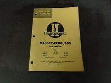 Massey-Ferguson Shop Manual   MF-10   I & T