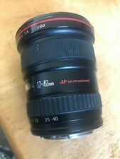canon zoom ef lens 17-40mm wide angle pre-owned