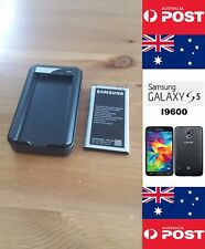 Samsung S5 Black Charger Dock Kit Plus EB-BG900BBE Battery With NFC - Local