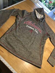 Alabama Crimson Tide Polyester Hoodie Women's L