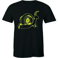 The Turbo Snail Funny Humor Racing Speed Racer Men's T-shirt JDM Ricer Rocket