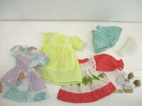 "Doll Clothes lot of 6 pieces to fit 8 1/2""' Ideal Lolly Walker NO DOLL"