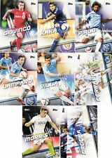 2016 Topps MLS Soccer Complete Base Set (198 Cards)