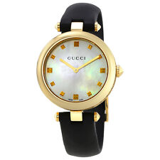 Gucci Diamantissima Mother of Pearl Dial Ladies Watch YA141404