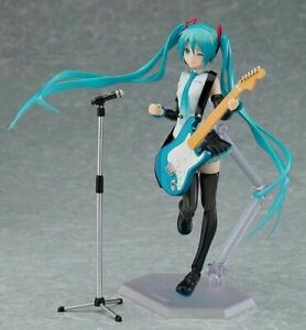 2020 New 14CM Hatsune Miku V4X miku PVC Action Anime Figure Toy Figma Model
