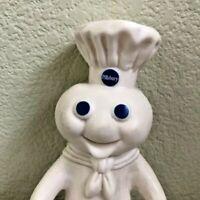 "1995 Pillsbury Doughboy Poppin' Fresh Swivel Head 7"" Vinyl Doll"