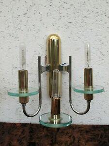 a pair of   Original wall Lamps design Gaetano Sciolari,sconces  mid century