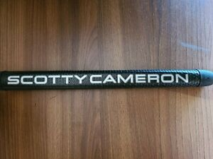 Titleist Scotty Cameron Black with Silver Matador Putter Grip