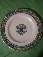 Dessert Plate Lenox Fine China Autumn Presidential Collection 24K Gold Rim Cream