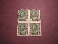 Canada Scott# 107A King George V Block of 4  MH 1922 C26