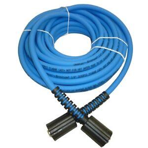"""UBERFLEX Kink Resistant Pressure Washer Hose 1/4"""" x 50' 3100 PSI 22MM"""