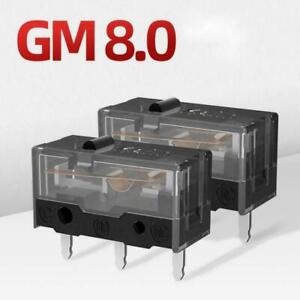 New Kailh GM8.0 Square Micro Switch For Mouse Black Button C8I0
