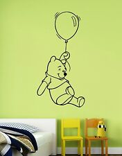 Winnie the Pooh Vinyl Sticker Disney Wall Decal Bear Art Nursery Cartoon Decor 3