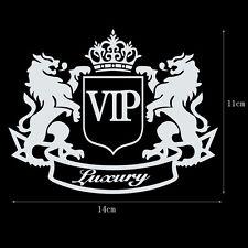 Luxury Crown VIP Lion Fashion Car Sticker PET Refective Vinyl Decal DIY Sticker