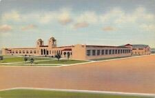 Clovis New Mexico~Junior High School~1937 Postcard