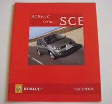 Renault . Scenic . New Scenic . August 2006 Sales Brochure