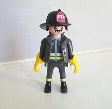 PLAYMOBIL (G2219) POMPIERS - Pompier US Américain 4621