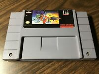 Super Nintendo Strikes Back SNES Super Nintendo Star Wars THQ 1993