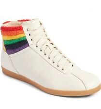 NEW Gucci Bambi Rainbow Terry High Top Men's Sneakers Shoes White  11 G/ 12 US