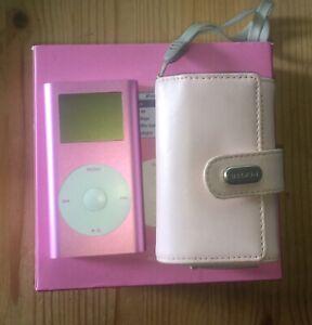 Ipod Mini 2nd Generation 4GB Pink A1051 February 2005 Box