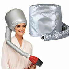 2 New Portable Soft Hair Drying Cap Bonnet Hood Hat Blow Dryer Attachments