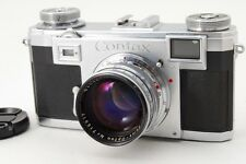 Near Mint Contax IIa Rangefinder Camera Zeiss Opton Red T Sonnar 50mm f/1.5 122N