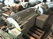 250 HP General Electric AC Electric Motor 3600 RPM Fr 509LS TEFCBB 4160 V EOK