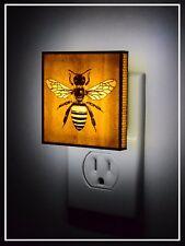 bee night light - Made of Wood - USA