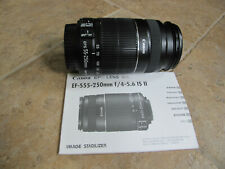 EC Canon EF-S 55-250mm F/4-5.6 Image Stabilizer IS STM Telephoto Zoom Lens