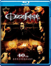 Ozzfest . Ozzy Osbourne Black Sabbath Anthrax HIM Trivium Rob Zombie . Blu-ray