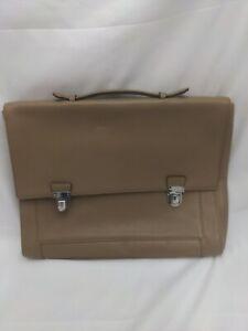Designer REISS Leather Briefcase Laptop Bag