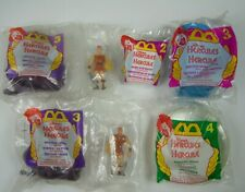 Vintage McDonald's Hercules Happy Meal Toys 1996-1997 Lot of 5 Sport Bottle