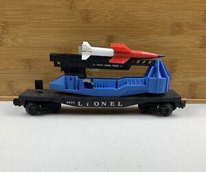Lionel No 6630 O Scale Missile Car