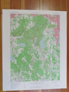 Blue Hills Massachusetts 1960 Original Vintage USGS Topo Map