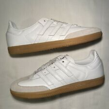 Adidas Samba OG MS Leather Sneakers Shoes BD7577 White/Gum Bottom Mens 9.5 NWT