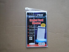 (100)  Ultra Pro ReSealable Graded Card Bags Sleeves 1 Pack Of 100 Sleeves