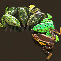 1PC Fishing Ray Frog Lures Tackle Hook Baits Crankbaits Soft Plastic Simulation
