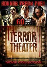 Horror Freak Fest: Terror Theater Movie Collection (DVD, 2015, 15-Disc Set) NEW!