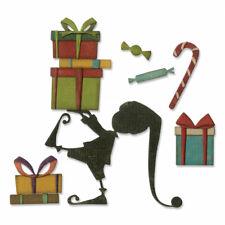 Sizzix Tim Holtz Thinlets Dies Santa's Helper 664192 Elf Christmas Dies