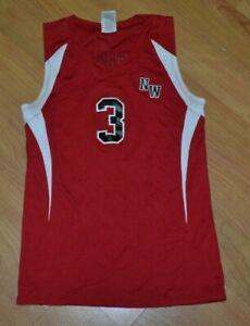 Northwest High School Mounties Jackson MI Volleyball Jersey Small Russell Nice