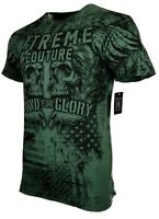 XTREME COUTURE by AFFLICTION Men T-Shirt PRIDE & GLORY Biker MMA Gym S-3X $40
