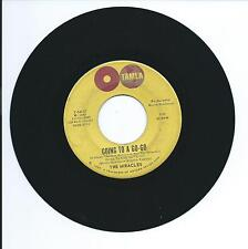 """1965 THE MIRACLES """"GOING TO A GO-GO"""" 45rpm 7"""""""