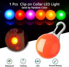 Pet Dog Collar Light LED Pendant Cat Flashing Collar Safety Night Light Pendant