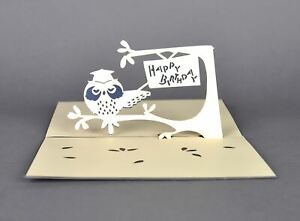 3D Pop Up Birthday Greeting Card Handmade For Boy and Girl