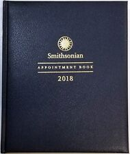 2018 Weekly/Monthly Smithsonian appointment book/planner 7 1/2 in x 9 in