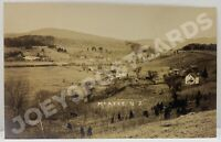 RPPC MCAFEE NJ TOWN VIEW NEW JERSEY REAL PHOTO SUSSEX COUNTY