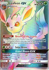 Pokemon Leafeon GX Rainbow Holo 157/156 - Proxy Karte - Folipurba