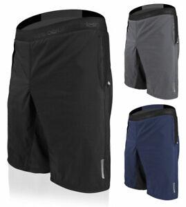 Aero Tech Men's USA MTB PADDED Mountain Bike Shorts - Made in USA